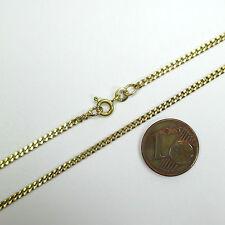 575 - 56,5 cm / 2,0 mm Collierkkette im Panzermuster aus Gold 333 ---  1539