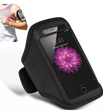 Black Sports Running Jogging Gym Armband Case Cover for Apple iPhone 5/5S/SE