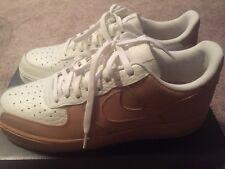 Nike Air Force 1 '07 Premium 905345-105 Sail Vachetta Tan White Men Size 9.5 NIB