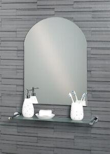 Hampton - Frameless Bathroom Wall Mirror - 2 Sizes (60 x 45cm or 70 x 50cm)