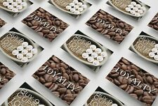 Coffee Loyalty Cards For Cafe, Restaurant, Bistro, Coffee Shop - From 6p/Card