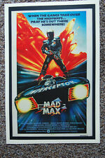 Mad Max  Movie poster Lobby Card #3 Mel Gibson George Miller