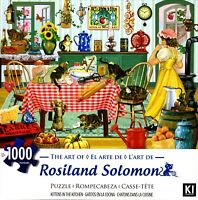 Kittens in the Kitchen 1000 Piece Puzzle - Rosiland Solomon