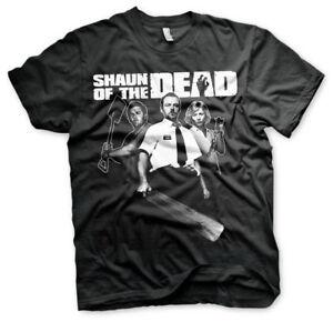 Officially Licensed Shaun of the Dead Men's T-Shirt S-XXL Sizes (Black)