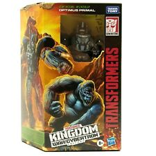 Transformers Optimus Primal Kingdom Voyager War For Cybertron Action Figure