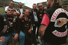 Hells Angels Motorcycle Gang Sonny Barger & Members Glossy 8.5x11 Photo HA-611