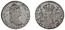 8 SILVER REALES / PLATA. FERDINAND VII - FERNANDO VII. MÉXICO,1814 JJ. XF / EBC.