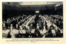 Die Studienreise deutscher Aerzte in Dresden unter Vorsitz v. Prof.Dr. Renk 1902