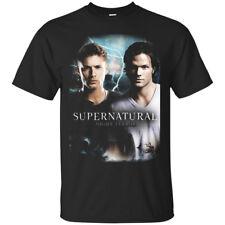 The Supernatural TV Series Night Terror Black Men's T-Shirt Tee