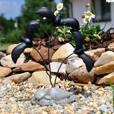 Miniature Fairy Garden Spooky Bats on Wires