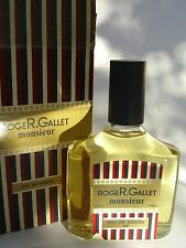 MONSIEUR ROGER GALLET HOMME EAU DE TOILETTE 200 cc/ml splash RARE  VINTAGE