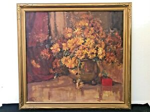 🔥 RARE Antique California Impressionist Oil Painting - Florence Young