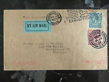 1924 England First Flight Cover via Imperial Airways to Berlin Germany Ffc