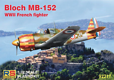 RS Models 1/72 Bloch MB-152 WWII French Fighter # 92217