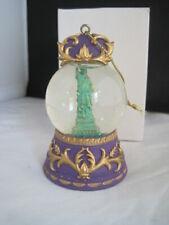 Statue of Liberty New York Snow Globe Ornament Boxed Snowdome
