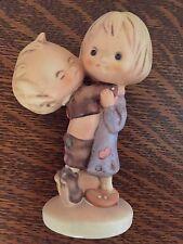 Goebel Vintage Hallmark Betsey Clark Figurine Friends Boy & Girl Hugging 1972