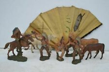 Group of Composition American Indian Figures. 20thC