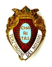 Brooch Religious Terz Order of Minimum - Charitas (S.Johnson Milano)