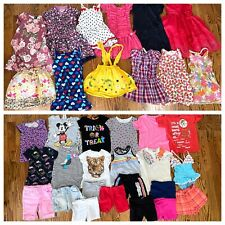 Girls Clothing Spring Summer Lot 34 Pieces Sz 5/6 Cat & Jack Gymboree Disney