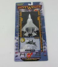 Hot Wings Diecast Collectable Planes F-22 Raptor Military Series 2015 Edition
