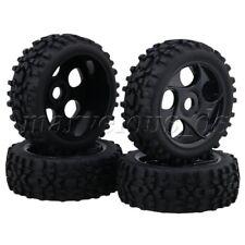 4 x Hex Hub 17mm 5 Hole RC1:8 Off-Road Car Wheel Rim & Prism Shaped Tire