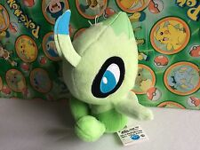 "Pokemon Plush Celebi 7"" Banpresto 2010 Japan UFO Stuffed Animal doll figure Toy"