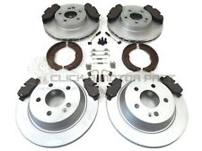 MERCEDES VITO 04-14 FRONT REAR BRAKE DISCS PADS SHOES FIT KIT 4 SENSORS (BOSCH)
