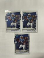 2020 Donruss Optic X3 Jonathan Taylor RC Rated Rookie Indianapolis Colts 167 Lot