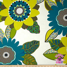 Alexander Henry Africa Amara Safari Pool Cotton Fabric by the Yard Flower