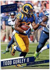 Todd Gurley II Los Angeles Rams #100 Prestige 2017 Panini NFL Trade Card (C2410)