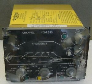 ROCKWELL COLLINS HF CONTROL BOX * 622-6792-003 Type: 514A-12