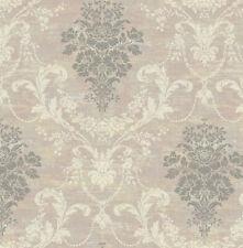 Papier Peint,Peint Design,Non-Tissé,Shimmer,Floral,Structure,Saumon Sauvage,