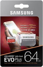 microsd per galaxy A3 GALAXY A5 GALAXY A7 64 GB ORIGINALE SAMSUNG