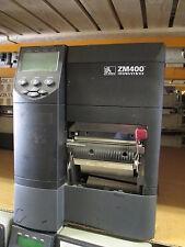 Zebra ZM400 300DPI NETWORK USB REWINDER Thermal Barcode Label Printer 1.631.094