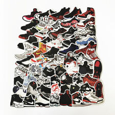 60Pcs Michael Jordan Sport Sneaker Stickers Decal Car Skateboard Bikeicycles PC
