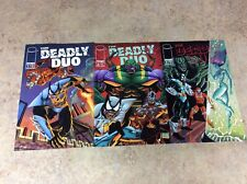 DEADLY DUO #1,2,3 LOT OF 3 1994 IMAGE