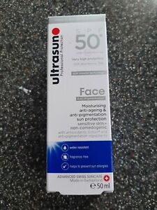 NEW AND UNOPENED FACE ANTI PIGMENT. SPF50 50ML ANTI AGEING & ANTI PIGMENTATION