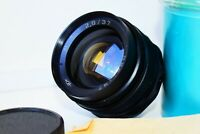 RARE BLACK EXPORT MIR-1 GRAND PRIX Brussels 2.8/37mm Wide Angle USSR SLR lens