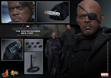 HOT TOYS 1/6 CAPTAIN AMERICA THE WINTER SOLDIER MMS315 NICK FURY ACTION FIGURE