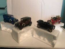 Lot of 4 Ford Model Diecast Cars and Trucks Ranging 1925-1931 Used Collectible