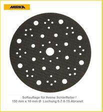 Mirka Softauflage 67-Loch Ø150x10 mm für ein Schleifen mit weniger Schleifdruck