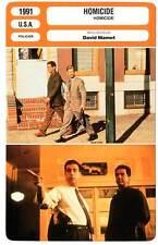 FICHE CINEMA : HOMICIDE - Mantegna,Macy,Mamet 1991