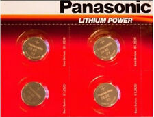 Panasonic CR2032 Battery 4 Pack Lithium Coin Cell 3V Battery Pack Brand New