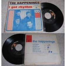 THE HAPPENINGS - I Got Rhythm +3 French EP Garage Pop 67 BIEM