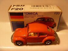 VINTAGE DIECAST BOXED TOMY TOMICA JAPAN VW VOLKSWAGEN BEETLE 1200 LSE