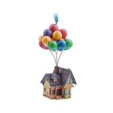 Disney Up Balloon House 2017 Sketchbook LE Ornament Pixar Carl Fredricksen Dug