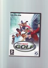 PROSTROKE GOLF : WORLD TOUR 2007 - PC GAME - ORIGINAL & COMPLETE WITH MANUAL