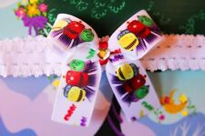 Chuggington Inspired Bow Baby Dress Up Party Girl Toddler Handmade Headband