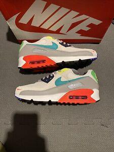 "Nike Air Max 90 SE Shoes ""Evolution Of Icons"" Pearl Grey White DA5562-001 10"