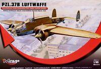 Mirage 1:48 PZL.37B Luftwaffe 1940 Aircraft Model Kit